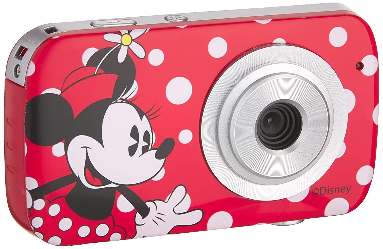 Disney 94010 Minnie Mouse Digital Camera Red Cameras & Camcorders ...