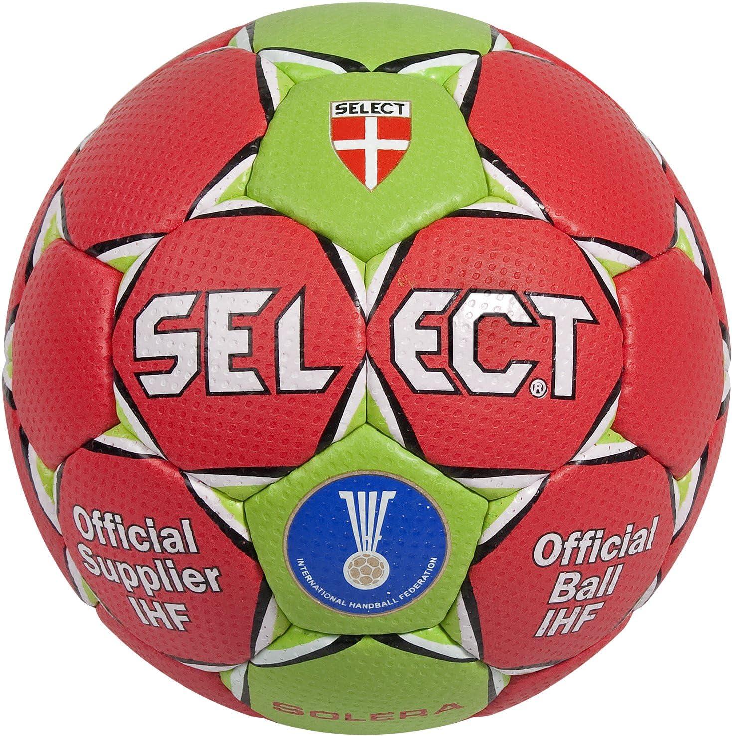 SELECT Trainingsball Solera - Pelota de Balonmano, Color Rojo ...