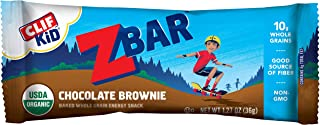 product image for Clif Kid ZBAR - Organic Granola Bars - Chocolate Brownie - (1.27 Ounce Energy Bars, Lunch Box Snacks, 18 Count)