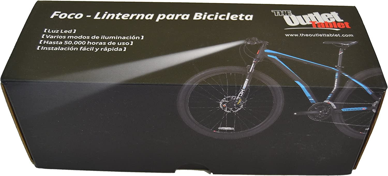 Luz delantera Foco frontal para Bici 16000 lumenes Linterna frontal 13x CREE XM-L 13 x T6 LED de bicicleta /bici lampara LED para manillar de bicicletas con batería y cargador: Amazon.es: Electrónica