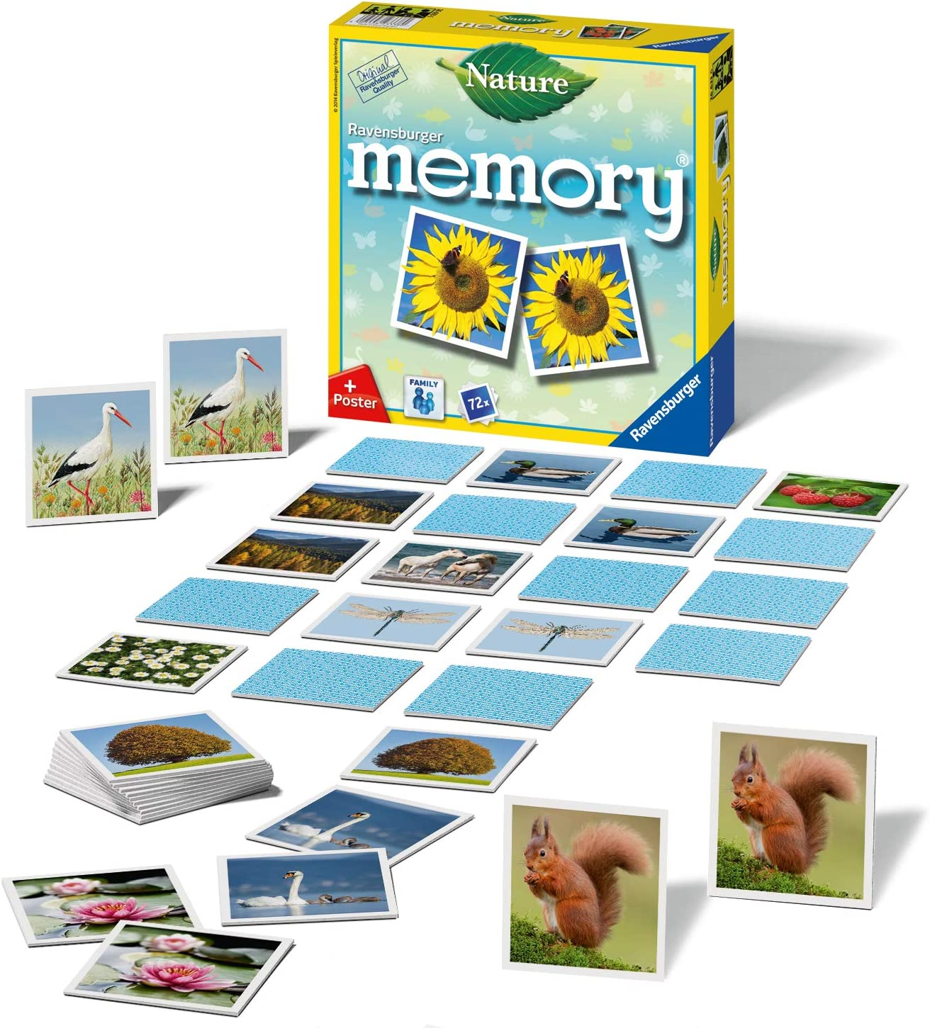 Ravensburger - Memory Naturaleza (Ravensburger 26633): Hurter, William H.: Amazon.es: Juguetes y juegos