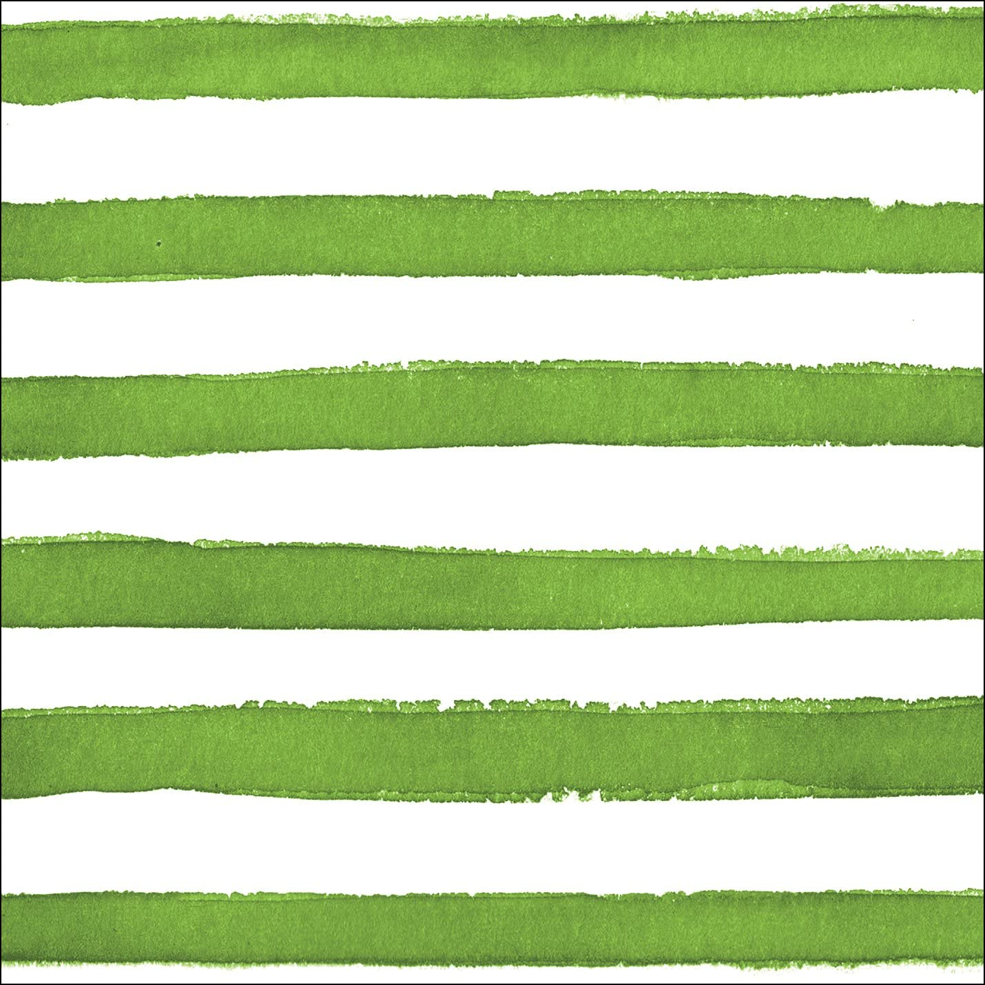Creative Converting (657531) 24 Count Premium Patterned Beverage Napkins, Dotted and Striped, Verdi