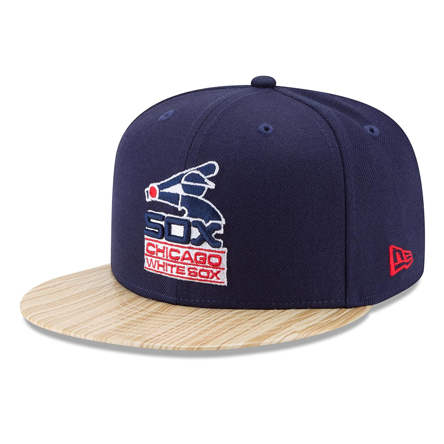 premium selection 00ca6 b4afd Amazon.com   New Era Chicago White Sox 9FIFTY MLB Cooperstown 1987 Topps  Snapback Hat   Sports   Outdoors