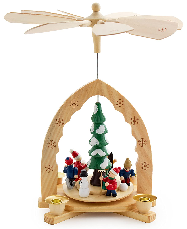 Pyramid christmas ornament - Amazon Com Brubaker Christmas Pyramid 12 Inches Nativity Play Christmas Scene Under The Christmas Tree Handpainted Figures Limited Edition 500