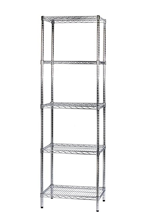 Iron System Scaffali.Archimede System Modular Shelving Five Shelves Metal