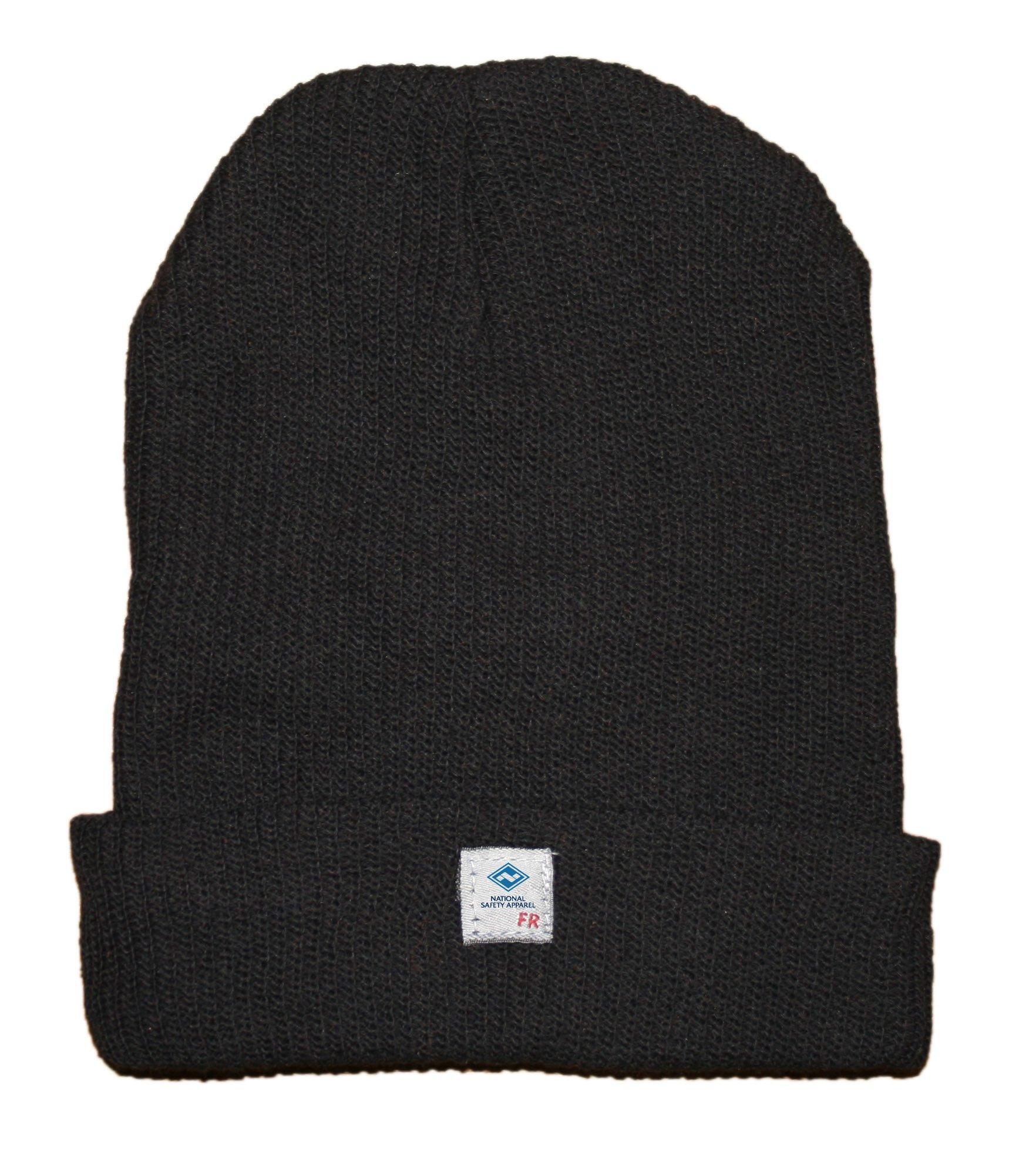 National Safety Apparel HNC2BK FR Dupont Nomex Knit Hat, One Size, Black