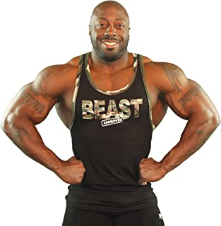 product image for Physique Bodyware Beast Approved Tank Top for Bodybuilders. Made in America