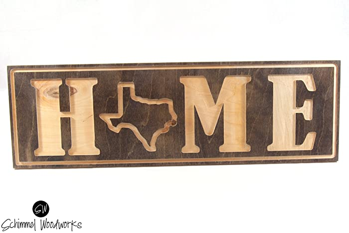Home Texas Wall Art. Home Texas Wall Decor. The Lone Star State. Comes