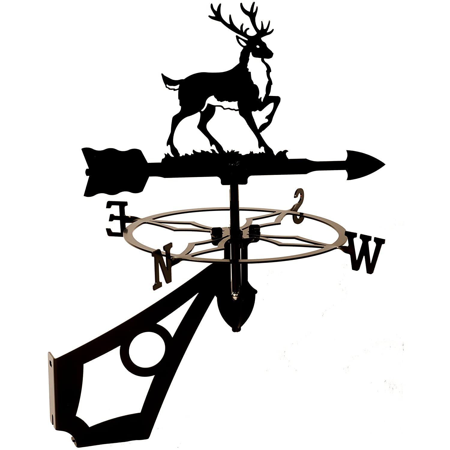 Dragon Laser Ltd. W139BLK Stag, Deer Weathervane