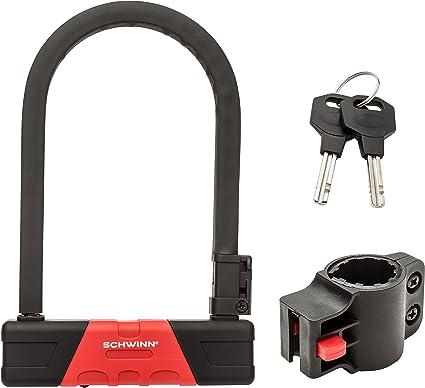 Amazon Com Schwinn Sw76391 3 U Lock Ultra Hardened Sports