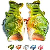 Coddies Klapki w kształcie ryby, oryginalne ryboklapki, okoń, zabawny prezent, sandały uniseks, klapki na basen, na…