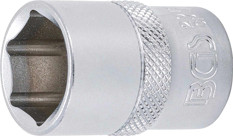 Stecknuss Antrieb Innenvierkant 12,5 mm 1//2 Nuss | SW 41 mm Schl/üsselweite BGS technic 2941 Steckschl/üssel-Einsatz Sechskant
