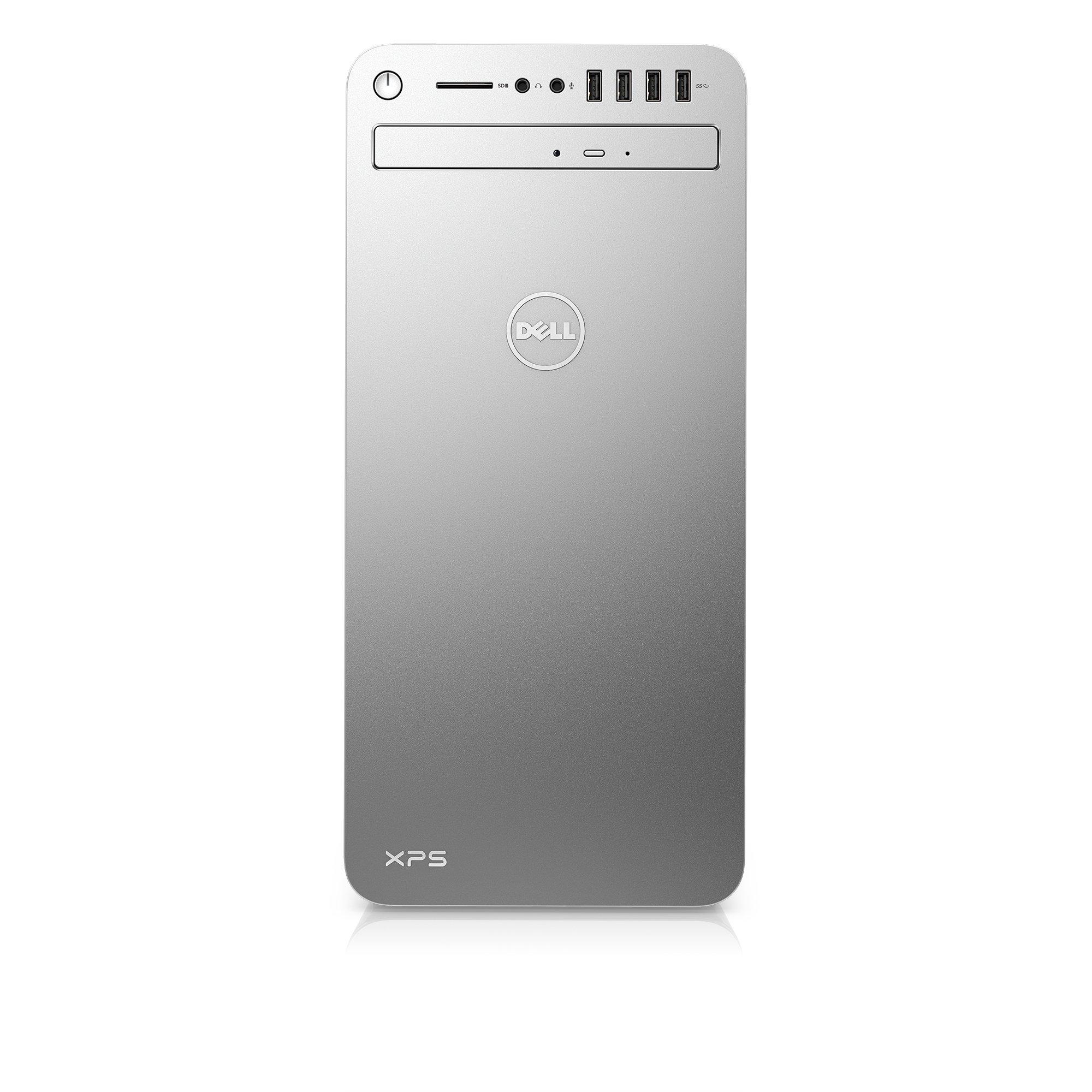 Dell XPSE8910-7942SLV Desktop (6th Gen Intel Core i7, 16GB RAM, 2 TB HDD) NVIDIA Gaming GPU GTX 1070, Silver by Dell
