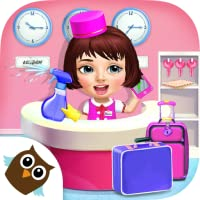 Sweet Baby Girl Hotel Cleanup - Crazy Cleaning Fun for Kids
