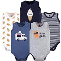 HUDSON BABY Baby-Boys Sleeveless Bodysuits Sleeveless T-Shirt Set
