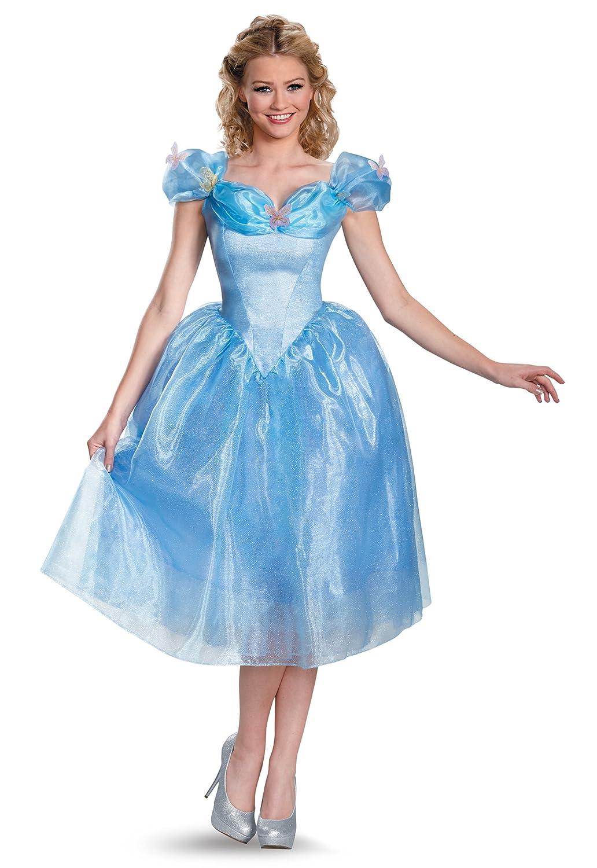 Amazon.com: Cinderella Adult Movie Costume Adult Cinderella Movie ...