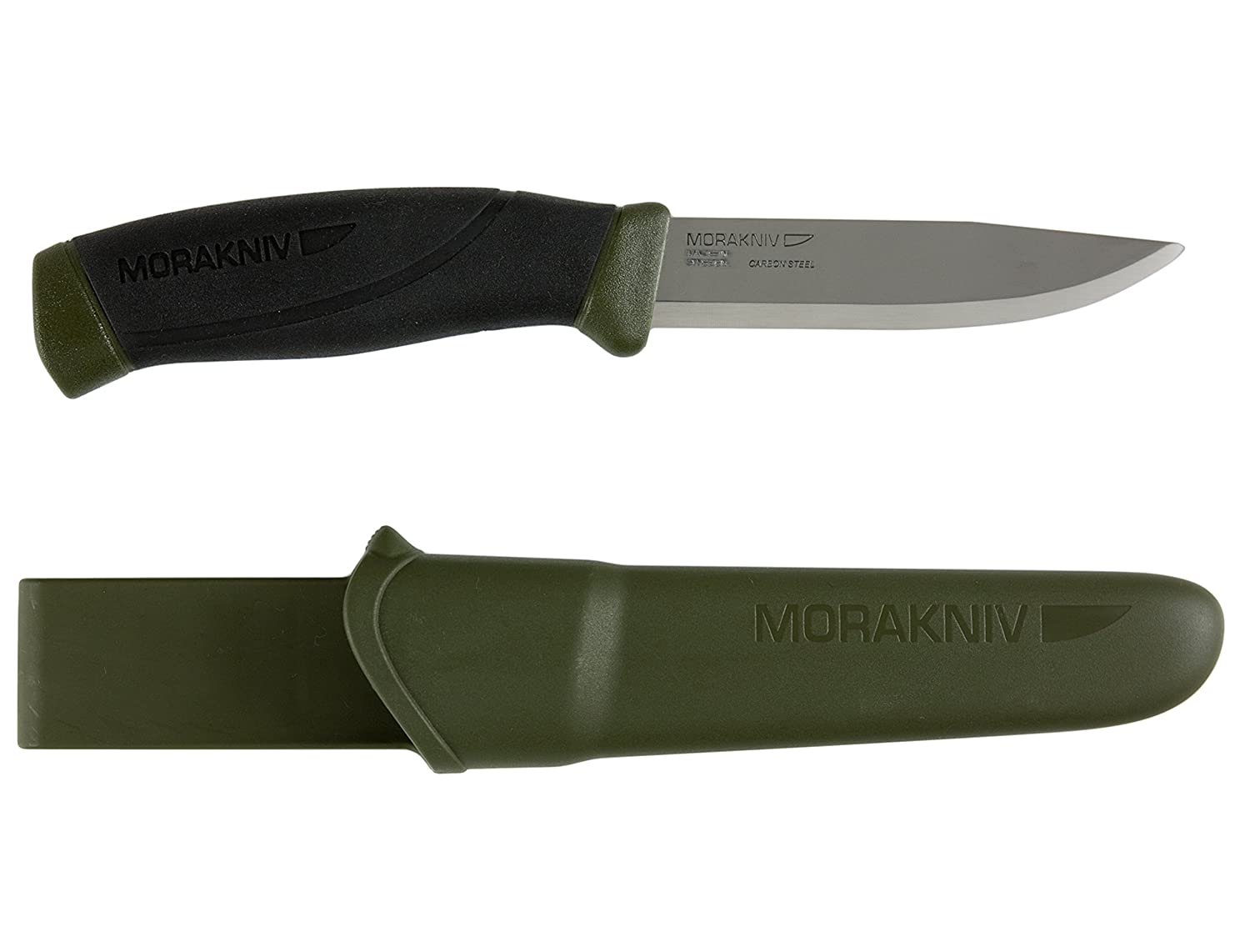 Amazon com : Morakniv Companion Fixed Blade Outdoor Knife