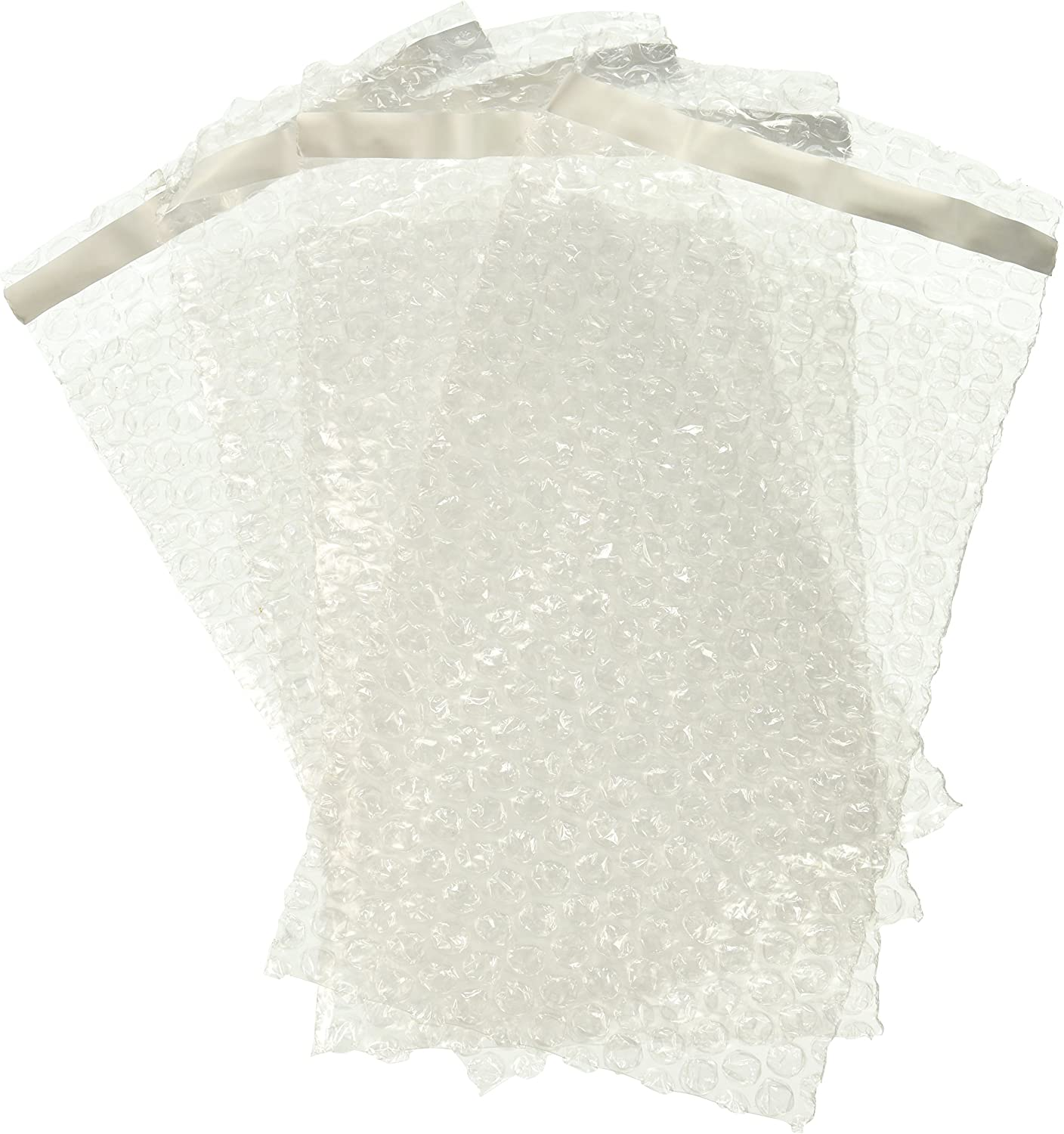 300 Small Clear Peel Seal Bubble Wrap Bags Pouches Size 7 x 9 180 x 235mm Bubblewrap Packaging Packing Storage Self Seal Cushioning Envelopes