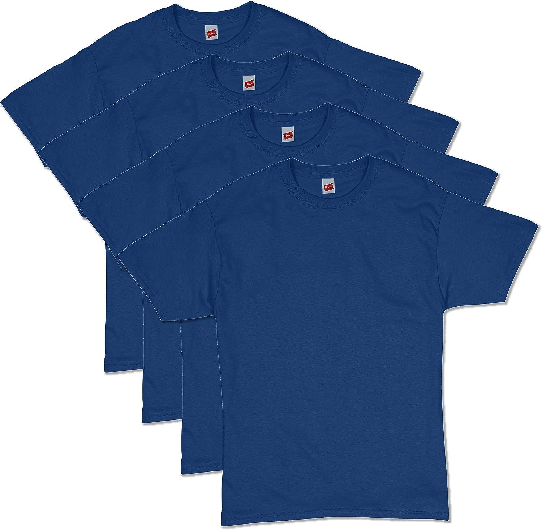 Hanes Men's ComfortSoft Short Sleeve T-Shirt (4 Pack )