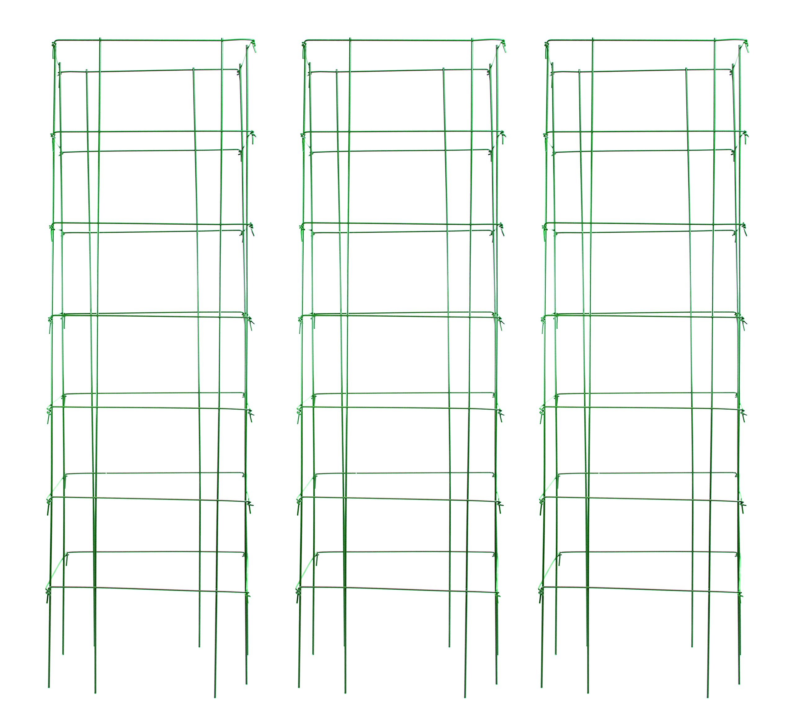 Burpee Extra Large Professional Tomato Cage 18x18x58, Heavy Gauge, Green MADE IN THE USA