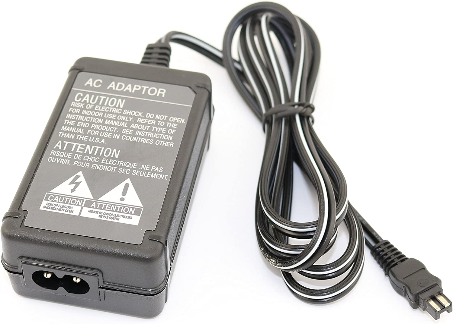 Super Power Supply AC//DC Adapter Charger for Sony HandyCam HDR-CX11 HDR-CX115E HDR-CX12 Camcorder