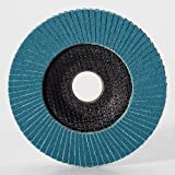 Mercer Industries 272120 Zirconia Flap Disc, Type