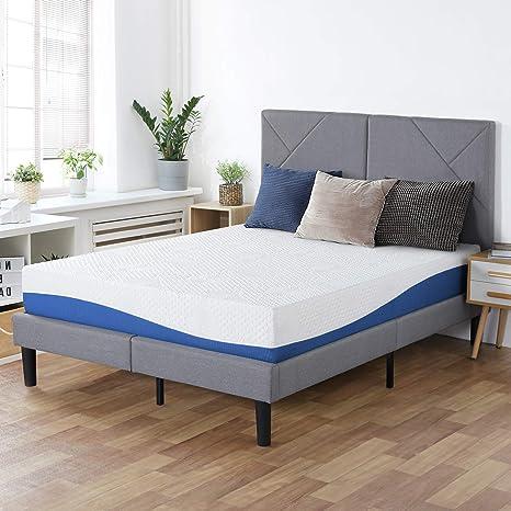Best plush Soft Gel Infused Memory Foam Mattress for side sleepers