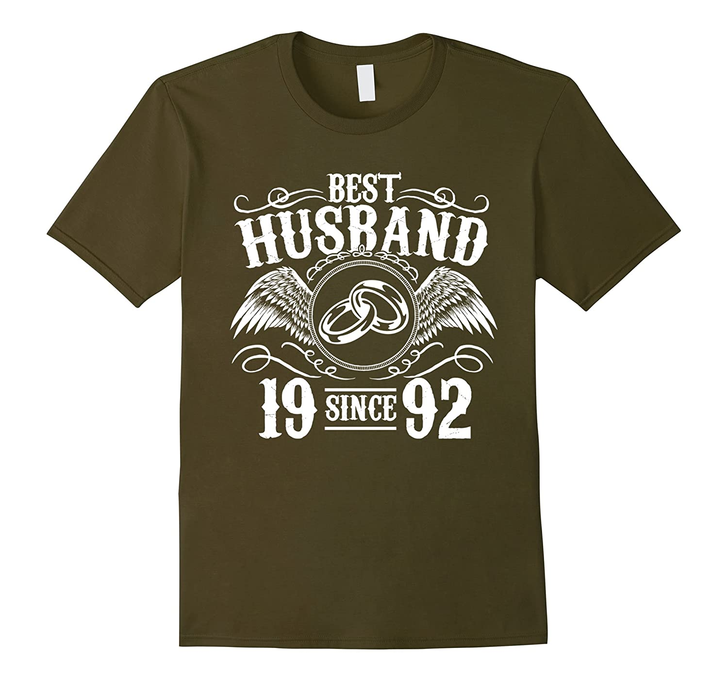 Great T-Shirt For Husband. 25th Wedding Anniversary Gift