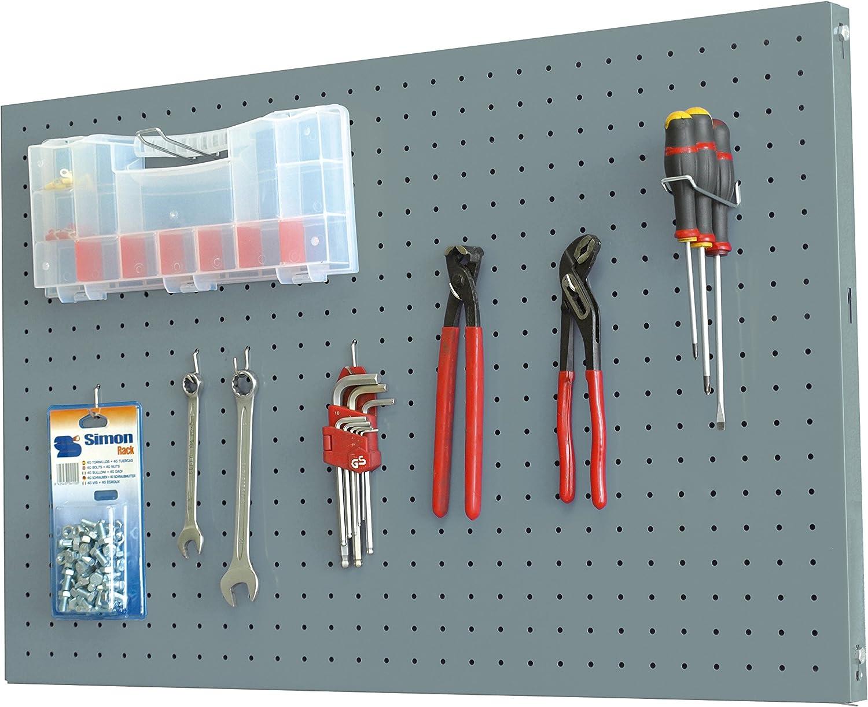 SimonRack SI906 Kit Estanter/ía 900 x 600 mm Gris Oscuro