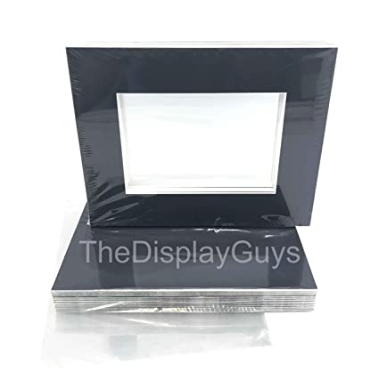 Amazon The Display Guys 25 Sets 8x10 Inch Black Picture Frame