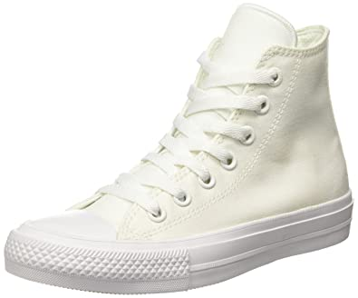 converse shoes all white. converse chuck taylor all star ii white textile 5 b(m) us women / shoes