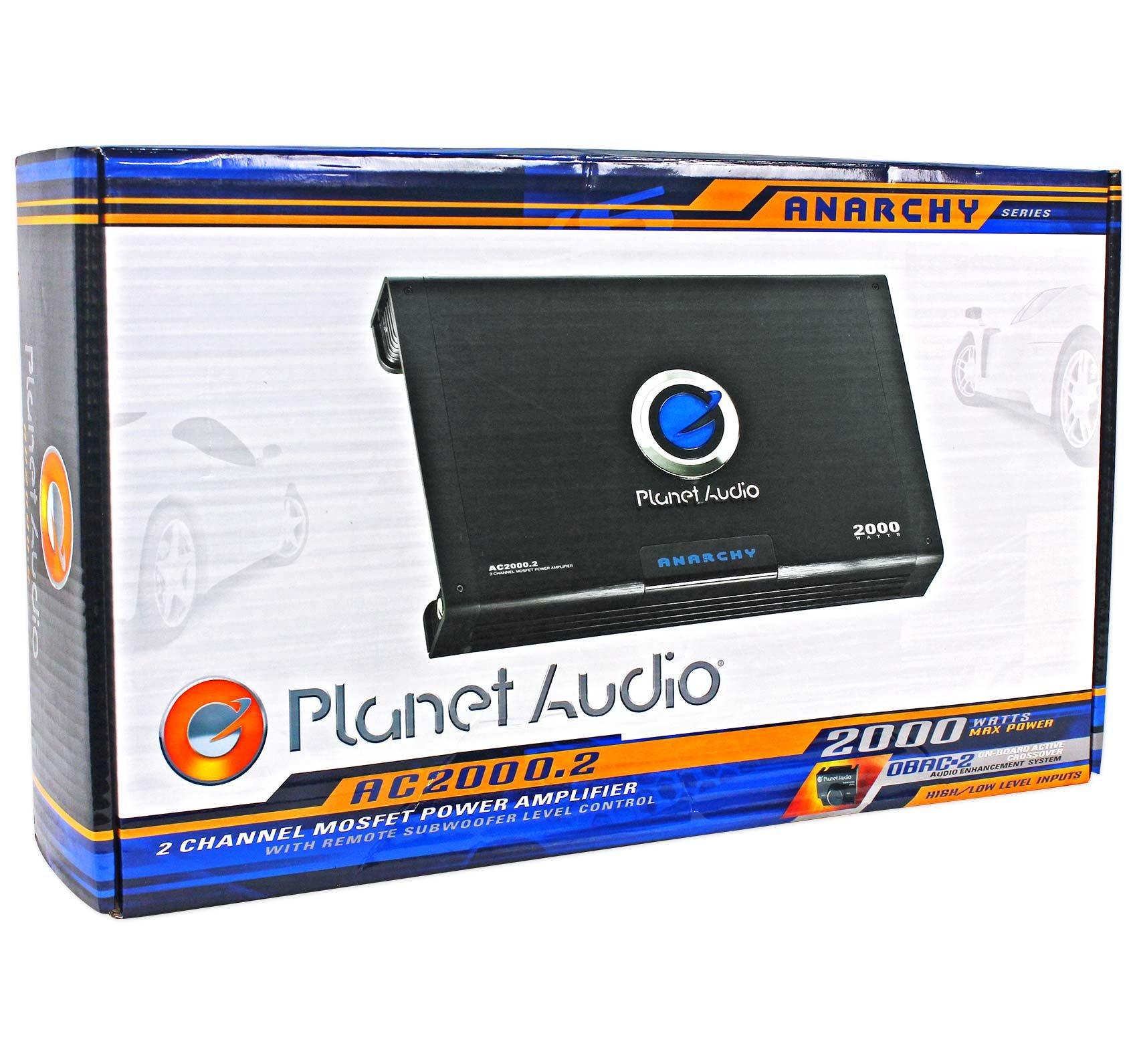 Remote New Planet Audio Anarchy AC2000.2 2000 Watt 2 Channel Car Amplifier Amp