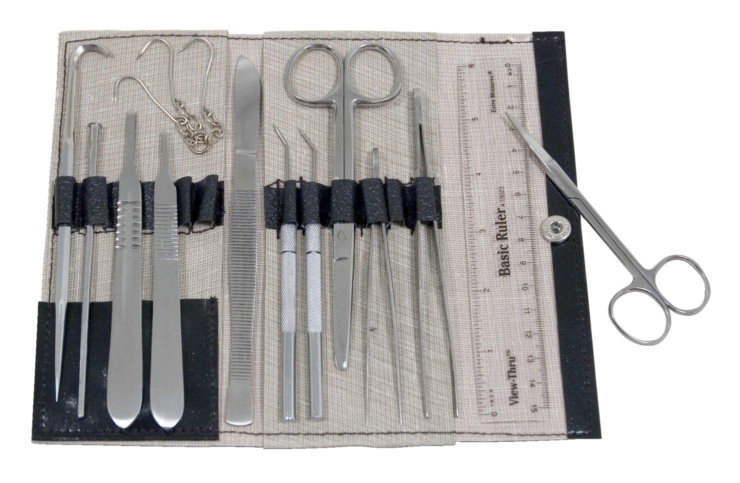 Frey Scientific - Kit de disección completo (15 piezas): Amazon.es: Amazon.es