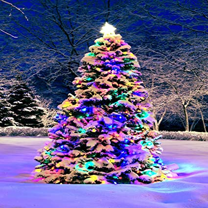 Colorful Christmas Background For Kids.Amazon Com Kate 10x10ft Glitter Colorful Christmas Tree