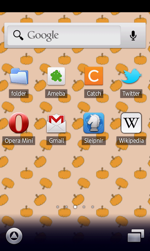 amazoncom cute pumpkin pattern wallpaper appstore for