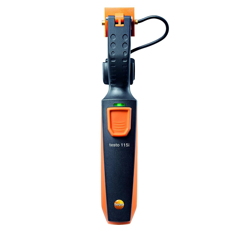 Testo 115I - Termómetro de abrazadera de Bluetooth Smart Sonda: Amazon.es: Industria, empresas y ciencia