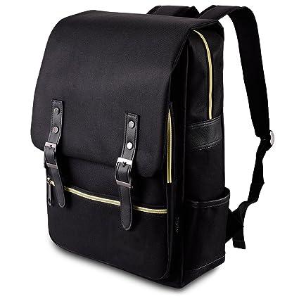 Basic Rucksack mit Vordertasche Schulrucksack Reise Outdoor Uni Tasche Daypack