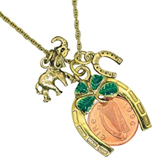 product image for Irish Penny Coin Lotto Scratcher Charm Pendant