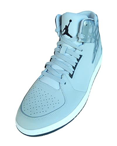 806ed25e0651 ... wholesale nike mens jordan 1 flight 3 basketball sneakers grey black  white 9 d 1bbac ecc13