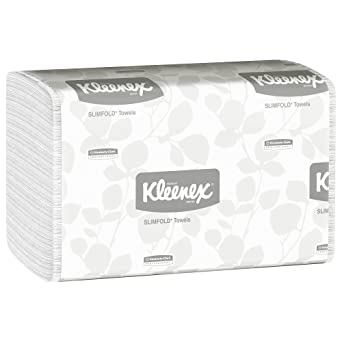 amazon com hand towels kleenex slimfold 04442 with fast drying