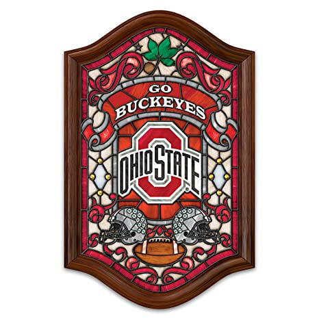 Amazon Com Officially Licensed Ohio State University Stained Glass