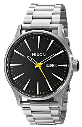 prix watches htm day and date nixon p ss the quartz grand sentry watch