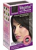 Vegetal Bio Hair Colour, Soft Black, 150g