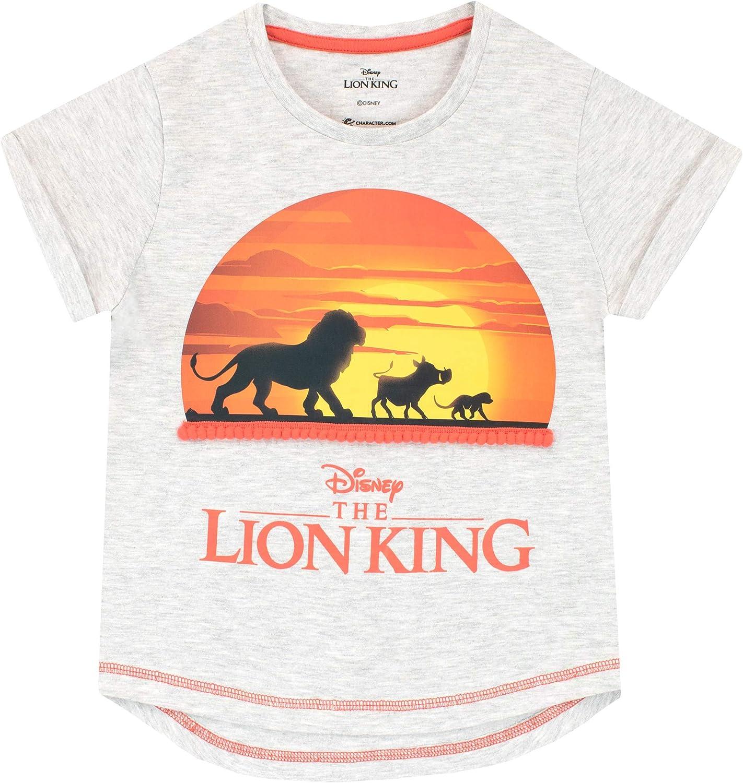 Disney The Lion King Fille Roi Lion T-Shirt