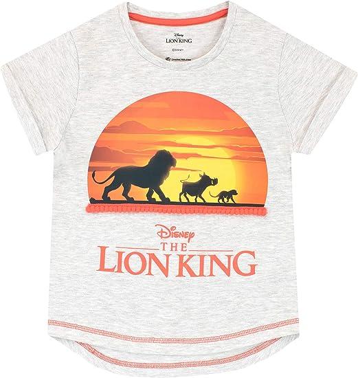 Disney Abito per Ragazze Re Leone The Lion King