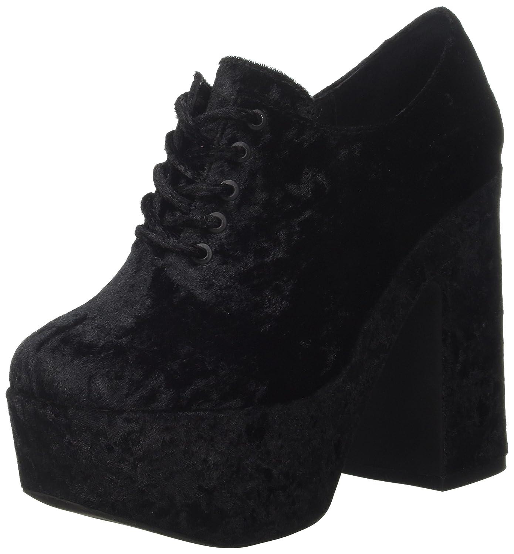 Jeffrey Campbell Adanna Crushed, Zapatos de Tacón con Punta Cerrada para Mujer 40 EU|Negro (Black 001)