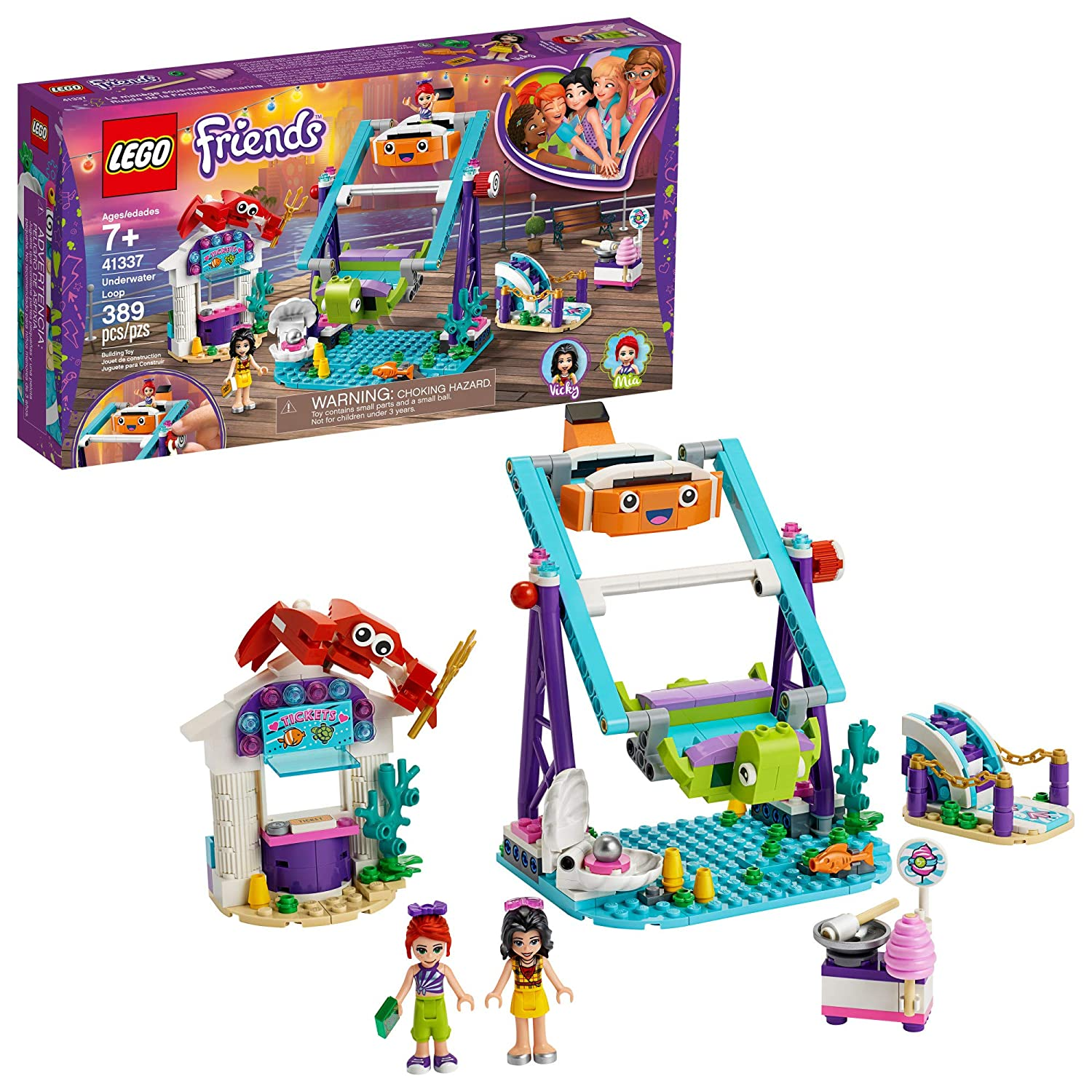 LEGO Friends Underwater Loop 41337 Building Kit (389 Pieces)