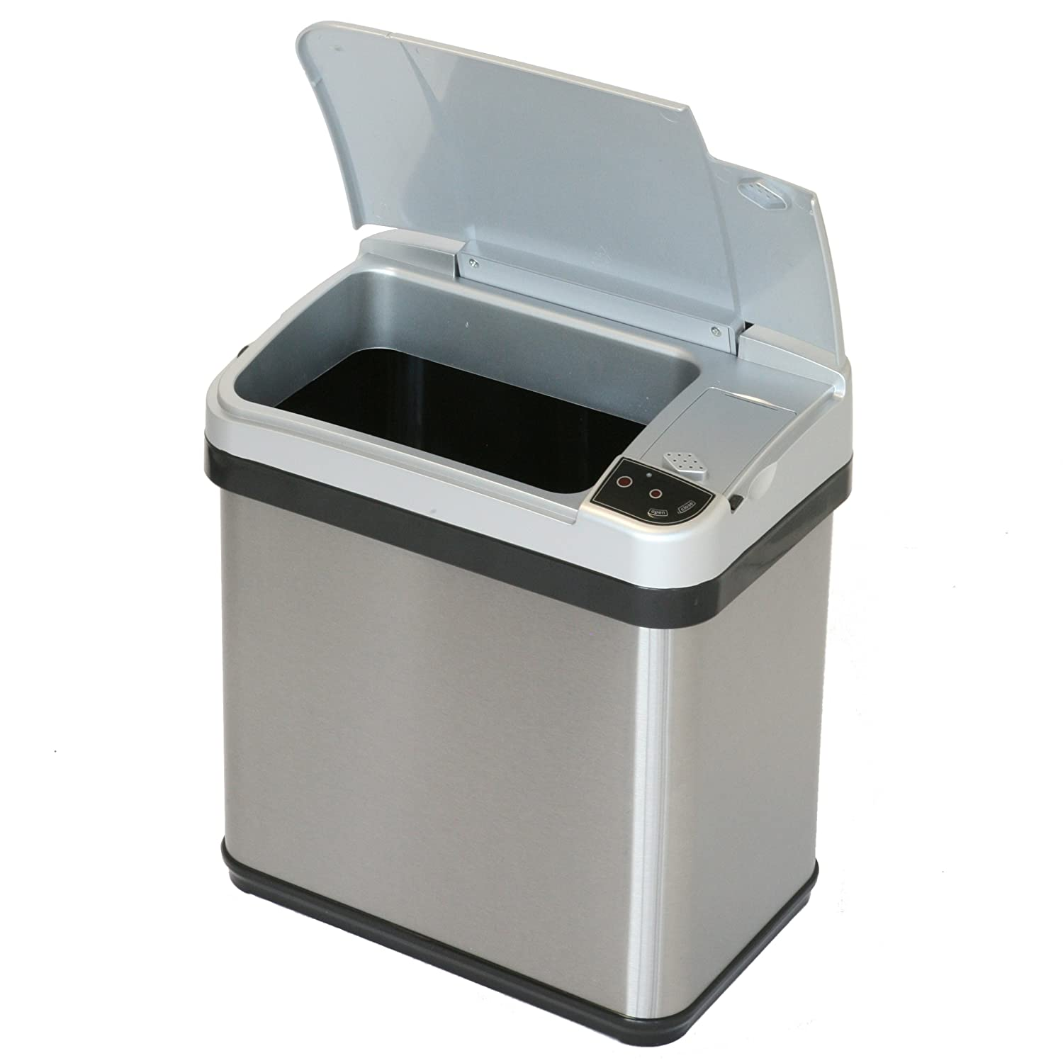 Amazon iTouchless Stainless Steel Trash Can Touchless Sensor
