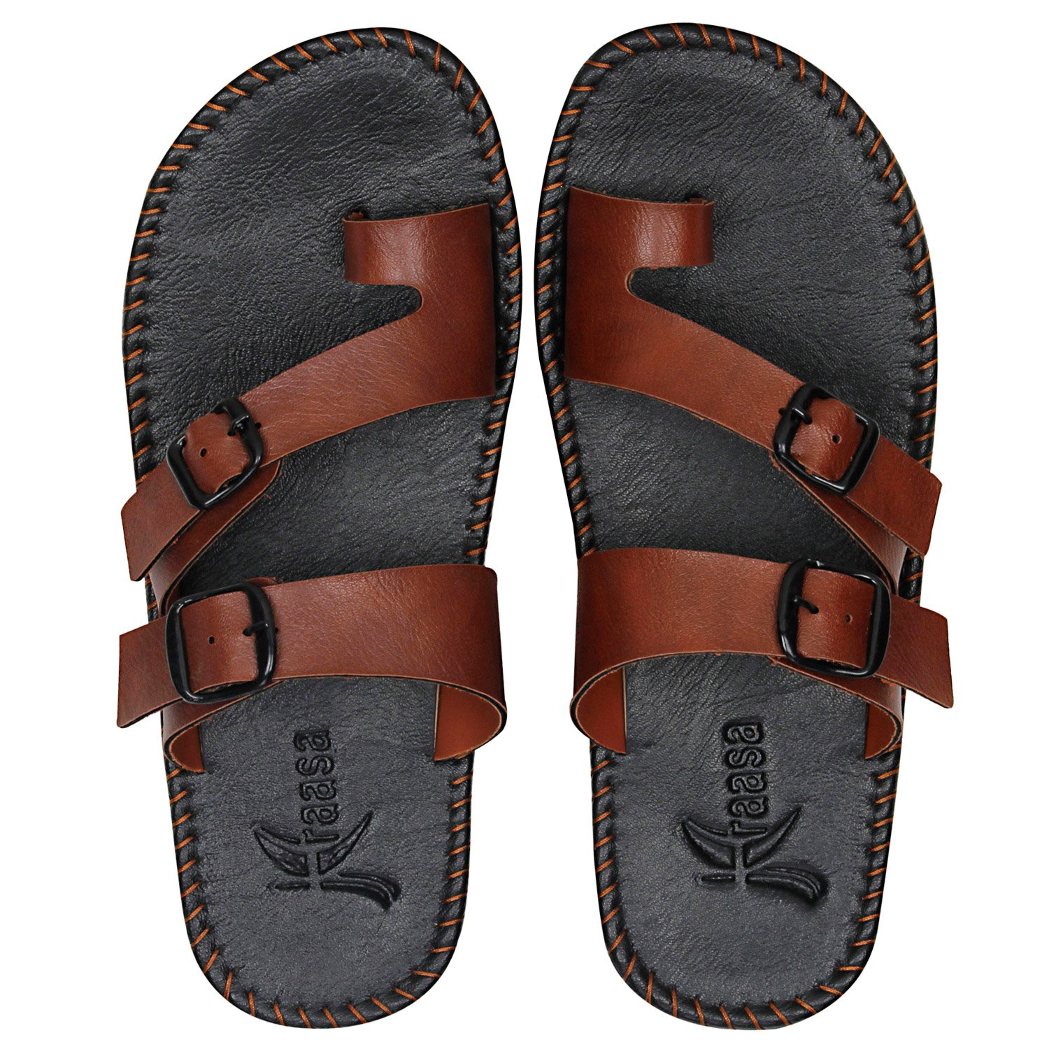 8f09e2aec66a4e Kraasa Men s Outdoor Sandals  Buy Online at Low Prices in India - Amazon.in