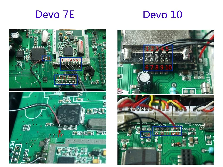 Usmile Cc2500 Nrf24l01 A7105 3 In 1 Multi Rf Wireless Module With Wltoy Pcb Box 24g Receiver Main Board Circuit Spare Parts For Pa Lna Walkera Devo 7e D10 Devo8s Devo12s Transmitter Radio Receivers Amazon